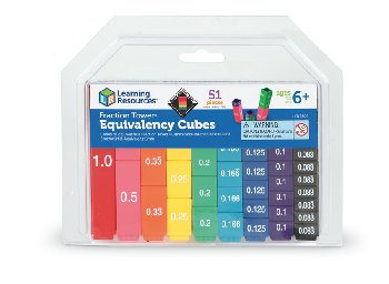 Fraction Tower Cube Equivalency Set