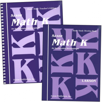 Saxon Math K Homeschool KIT