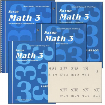 Saxon Math 3 Home Study Kit