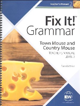 Fix It! Grammar Teacher's Manual Book 2: Robin Hood