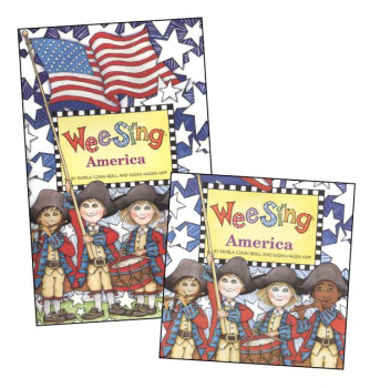 Wee Sing America Book and CD
