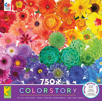 Colorstory Flower Power Puzzle (750 piece)