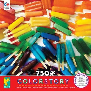 Colorstory Popsicles Puzzle (750 piece)