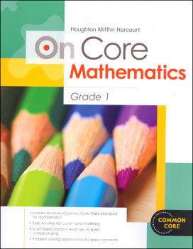 On Core Mathematics Student Edition Worktext Grade 1