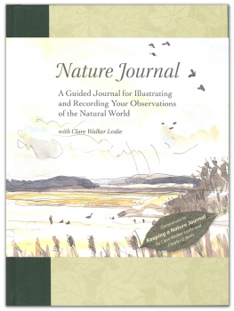 Nature Journal: Guided Journal for Illustrating and Recording Your Observations of the Natural World