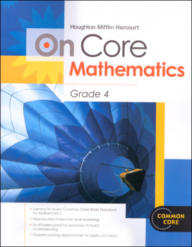On Core Mathematics Student Edition Worktext Grade 4