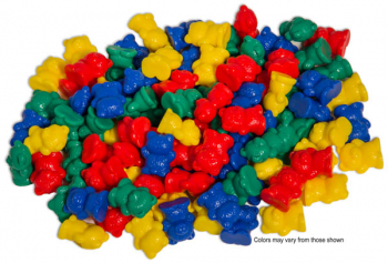 Teddy Bear Counters - Set of 100