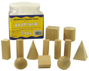 Geometric Solids - Set of 12