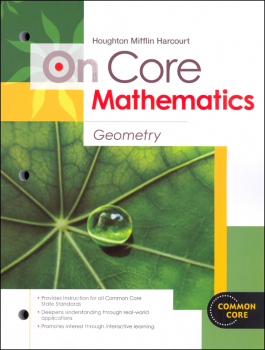 On Core Mathematics Student Edition Worktext Geometry