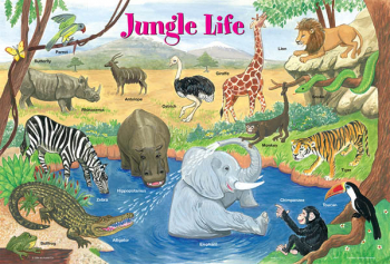 Jungle Life Placemat