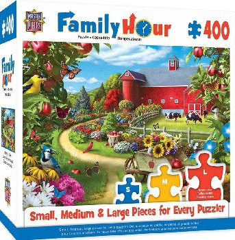 Family Hour Apple of My Eye Puzzle (400 Pieces)