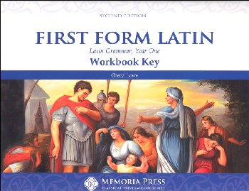 First Form Latin Workbook Key