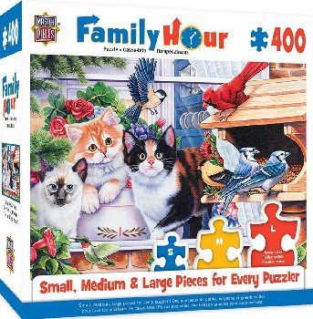 Family Hour Springtime Wonders Puzzle (400 Pieces)
