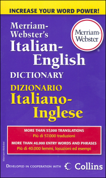 Merriam-Webster's Italian-English Dictionary (Mass-Market Paperback)