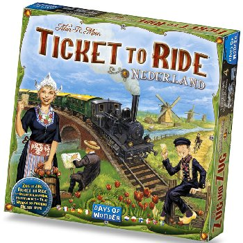 Ticket to Ride Nederland Map Collection/Expansion (Volume 4)