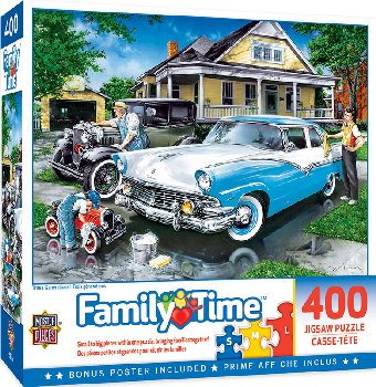 Family Hour Three Generations Puzzle (400 Pieces)