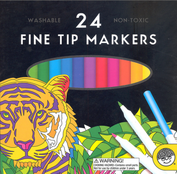 Fine Tip Markers - Set of 24
