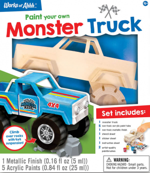 Monster Truck Paint Kit