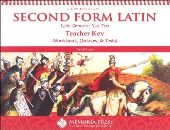 Second Form Latin Workbook and Test Key