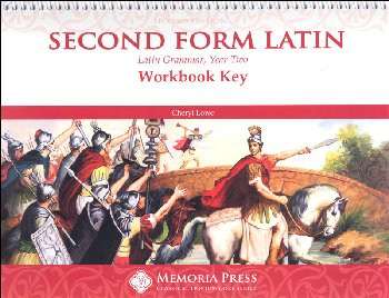 Second Form Latin Workbook Key