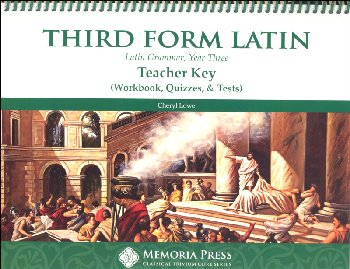 Third Form Latin Workbook and Test Key