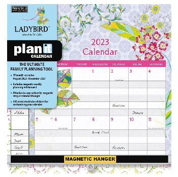 Ladybird Plan-It Wall Calendar (August 2020 -  December 2021)