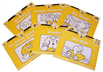 Itty Bitty Phonics Readers Blends/Diagraphs 6-Pack