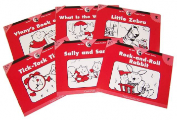 Itty Bitty Phonics Readers Consonants 6-Pack 3