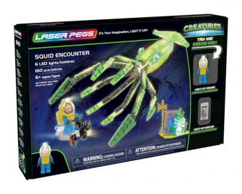 Laser Pegs Squid Encounter