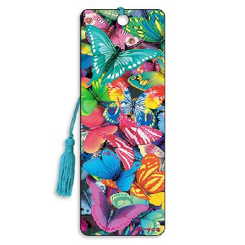 Butterfly Magic 3D Bookmark