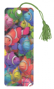 Clown School 3D Bookmark
