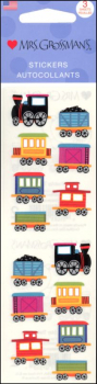 Chubby Train Stickers - 3 Sheets