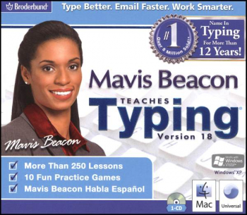 Mavis Beacon Teaches Typing Version 18