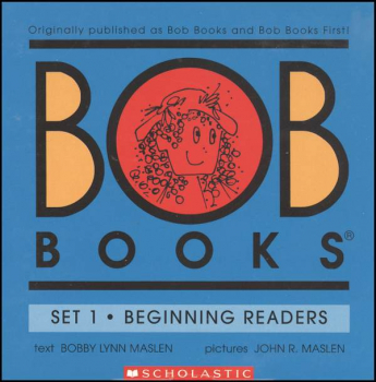 Bob Books Set 1: Beginning Readers (Color)
