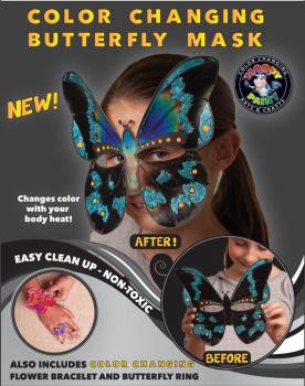 Butterfly Mask Kit (Color Changing)