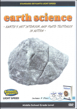 Light Speed Earth Science Module 2: Earth's Hot Interior and Plate Tectonics DVD