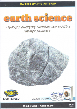Light Speed Earth Science Module 3: Earth's Changing Surface and Earth's DVD