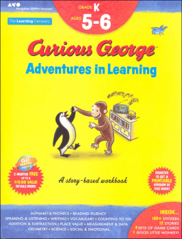 Curious George Adventures in Learning K (Ages 5-6)