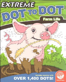 Extreme Dot to Dot Book - Farm Life