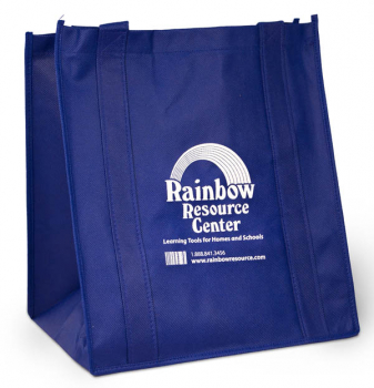 "Rainbow Resource Center Tote Bag(15""x13""x10"")"