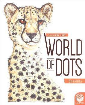 Extreme Dot to Dot: World of Dots Book - Savanna