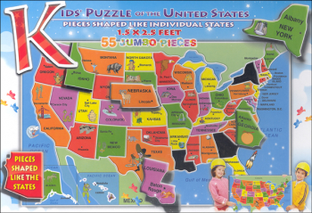 Kid's Puzzle of the United States