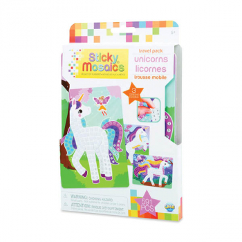 Sticky Mosaics Travel Pack - Unicorn