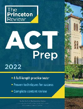 ACT Prep 2020 Edition (6 Practice Tests + Content Review + Strategies)