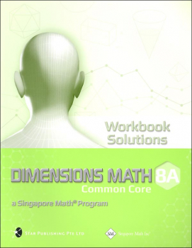 Dimensions Math Workbook Solutions 8A