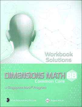 Dimensions Math Workbook Solutions 8B