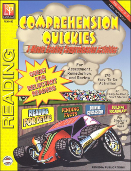 Comprehension Quickies Level 2