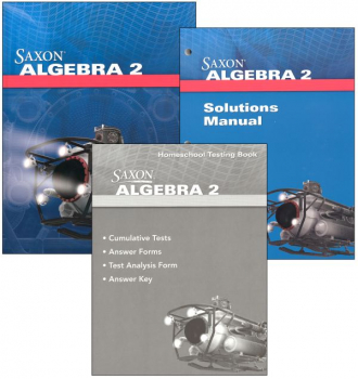 Algebra 2 Homeschool Kit With Solutions Manual (4th Edition)