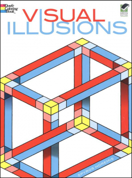 Visual Illusions Coloring Book