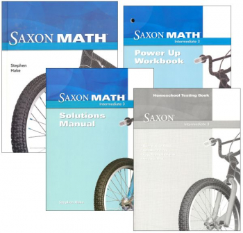 Saxon Math Intermediate 3 Comp Homeschool Kit